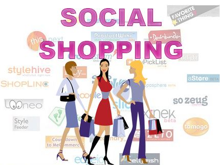 Social Shopping, Verzahnung Off/On und Shopkick