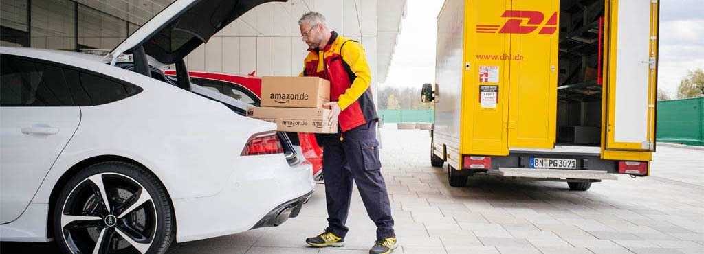 Kofferraumzustellung von Amazon: Prime Mitglieder werden bevorzugt