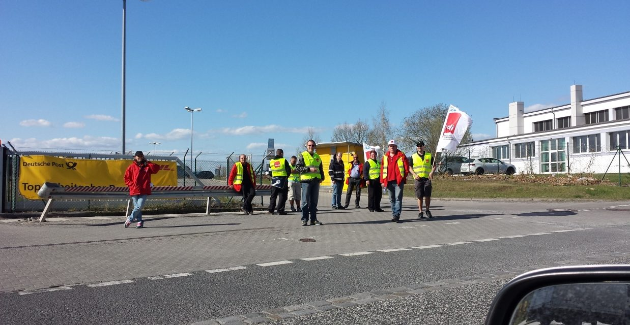 Aktuelle Infos: Streik bei DHL und Deutscher Post