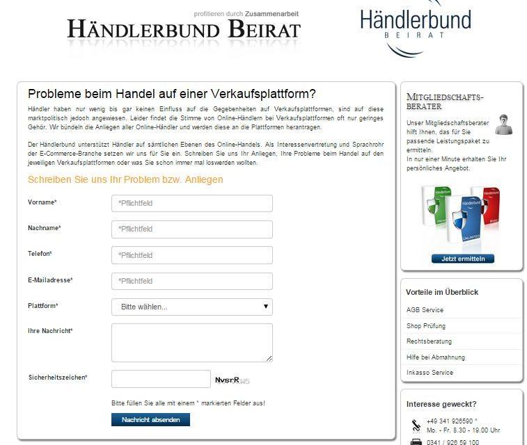 Händlerbund: Stärkere Vertretung gegen Plattformen