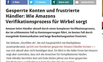 Amazon Verifikation: t3n.de und tmta.de steigen auch in das Thema ein