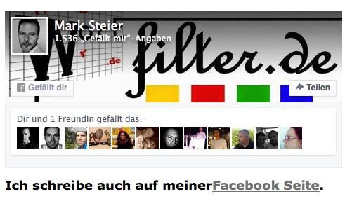 Wortfilter Facebook Gruppe: 3000 Mitgliedermarke geknackt