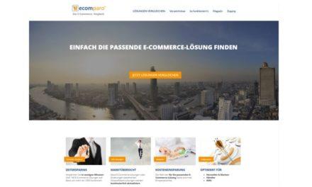 ecomparo.de – Die Vergleichsplattform für Shop & ERP-Systeme