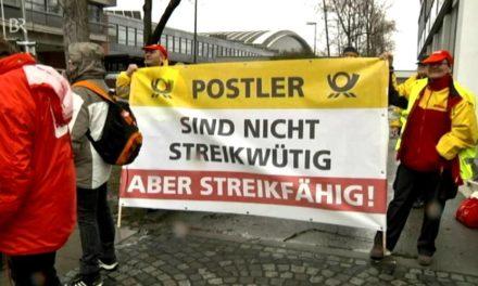 DHL, die Post und der Streik