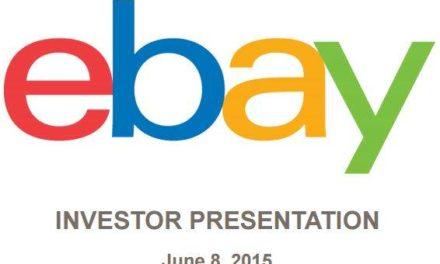 eBay hat sich seinen Geldgebern präsentiert