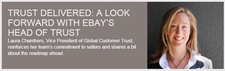 Verkäuferstandards & Mängelquote – eBay BLOG: Laura Chambers gewährt Einblick in die Roadmap