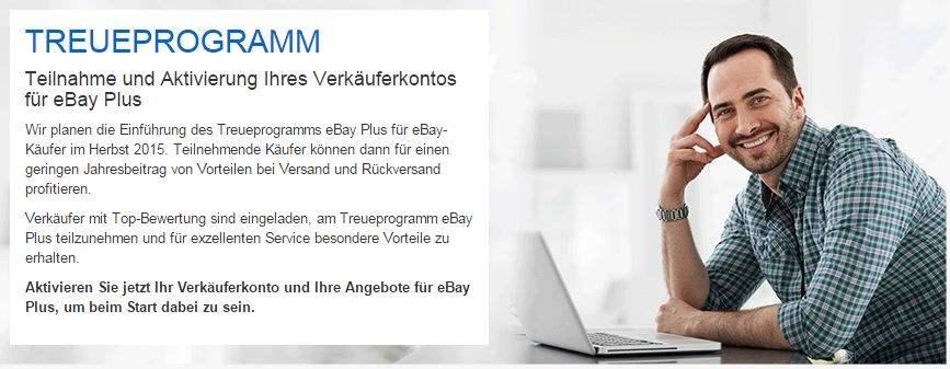 eBay Plus Treueprogramm für Händler: Anmeldung ab sofort möglich