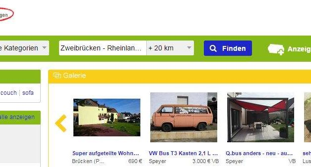 eBay Kleinanzeigen: Fast vergessen. eBay 1.0?