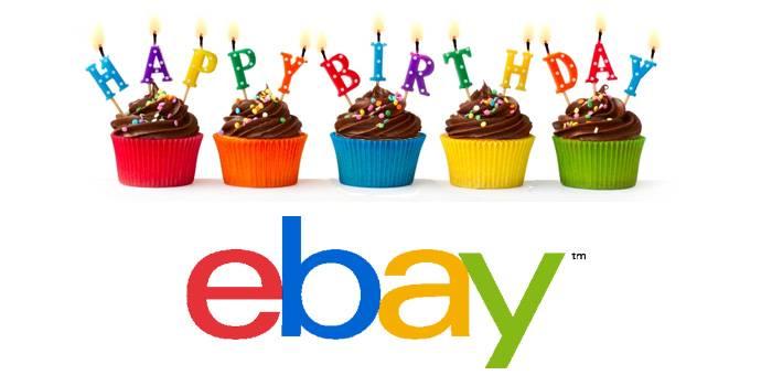 eBay wird heute 20 Jahre alt. Danke.
