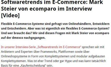 E-Commerce Frameworks, Softwaretrends, ecomparo.de und so