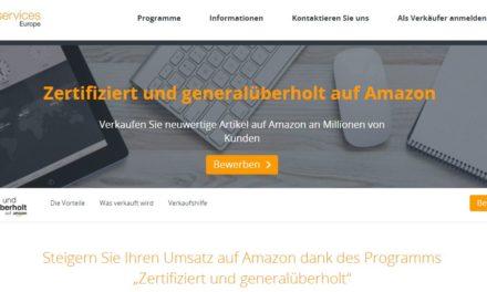 Amazons neues Programm: Zertifiziert und generalüberholt