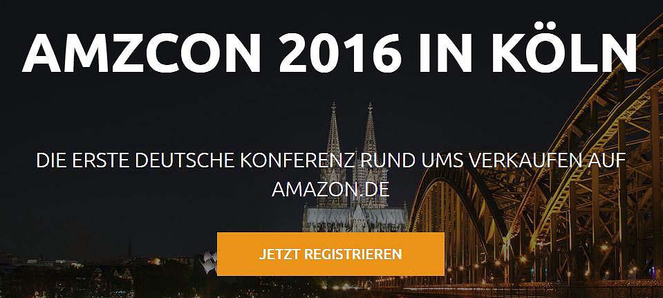 AMZCON Konferenz: Rund ums Verkaufen auf Amazon – am 08.04.2016