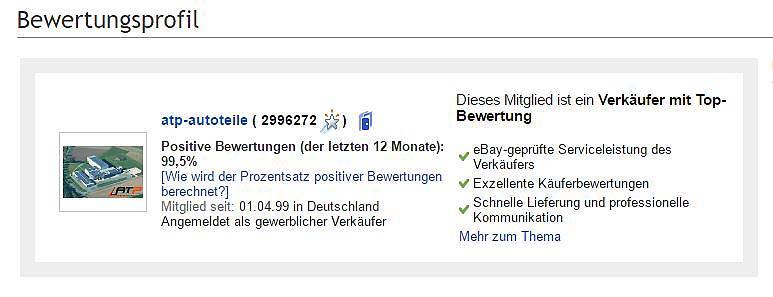 eBay Händler knackt Bestmarke – Herzlichen Glückwunsch Peter. Du bist der Größte!