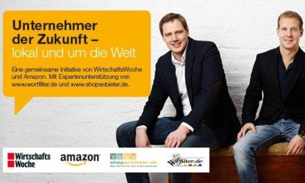 """Amazon Förderprogramm – Mark Steier launcht mit Amazon """"Unternehmer der Zukunft"""""""