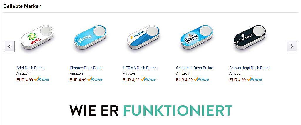 Amazon Dash Button Verbot – Scheiß auf Rechtssicherheit! [Kommentar]