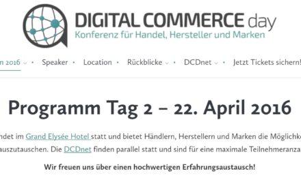 DCD Hamburg am 21/22.04 – Workshops und so? Brauche ich das?