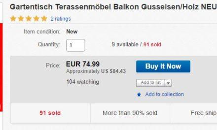 eBay Produkt Rezensionen: Da sind sie nun – und die Fakes gleich auch!