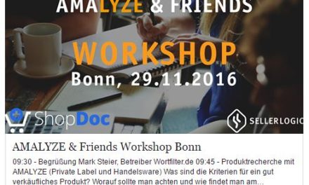 Recap von Florian Berger: Amalyze & Friends Workshop in Bonn