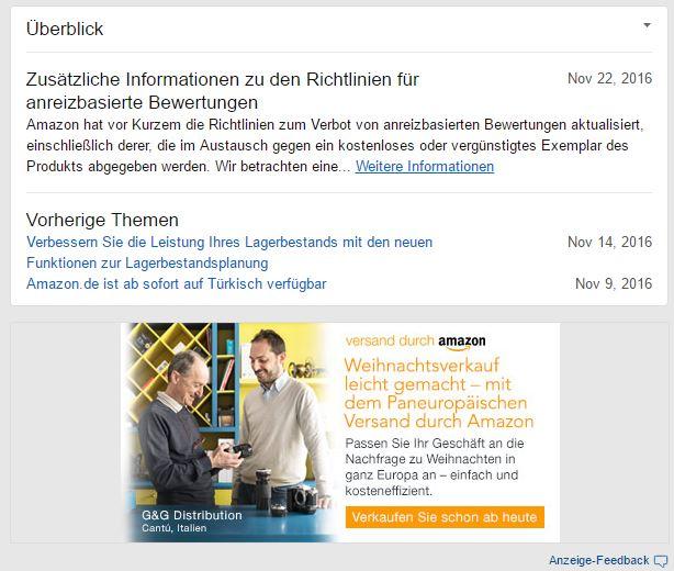 NEWSFLASH: Zusätzliche Informationen zu den Richtlinien für anreizbasierte Bewertungen
