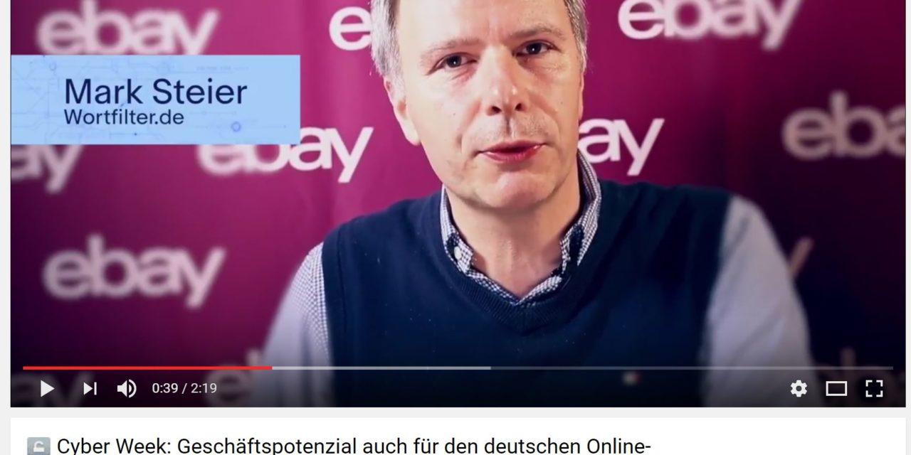 Kleine und mittelständische Händler kommen in der Cyber Week bei eBay.de groß raus