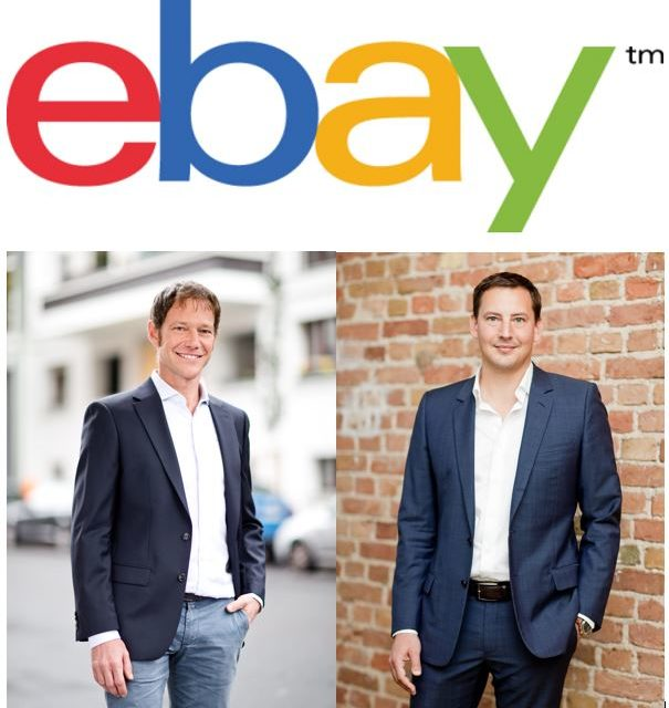 Denis Burger und Dr. Reinhard Schmidt haben neue Rollen bei eBay Deutschland übernommen