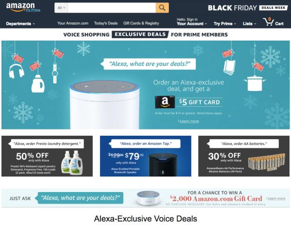 """Amazon veranstaltet erste """"Voice Shopping Week"""" mit Alexa"""