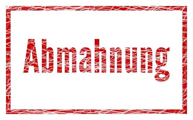 Abmahnung: MK Versandhandel Mark Kovaltchouk Kalteneckerstr.6 84036 Kumhausen