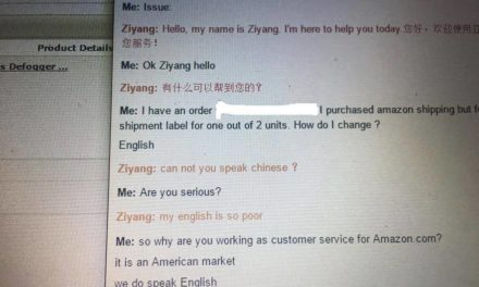 We do speak english!
