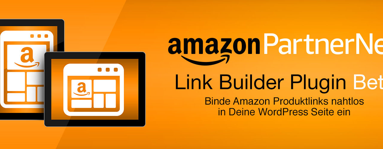 AmazonPartnerNet: Link Builder Plug-in für WordPress Beta für lau