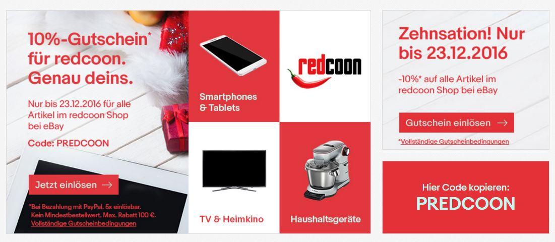 Redcoon bei eBay: Eine Verzweiflungstat!