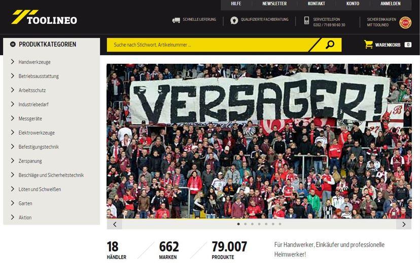 Totalversagen: B2B-Marktplatz toolineo.de macht nur 1 Mio. € Umsatz