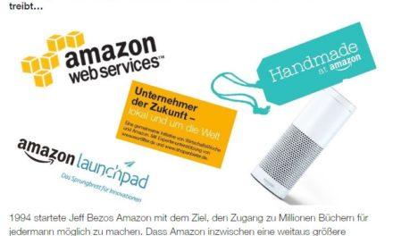 Was Amazon gerade so treibt…könnt ihr hier lesen: der Amazon Blog