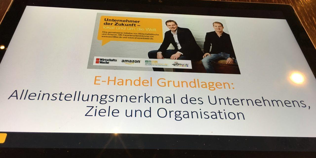 Impressions: Kick Off Meeting Amazon Unternehmer der Zukunft