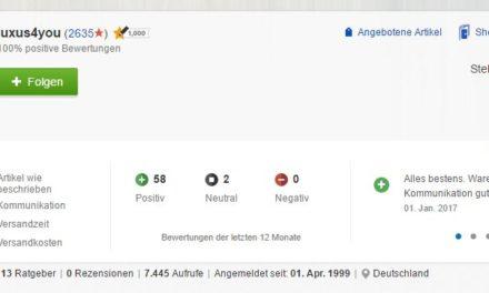 eBay Händler wurde in Berlin am 02.01.2017 überfallen