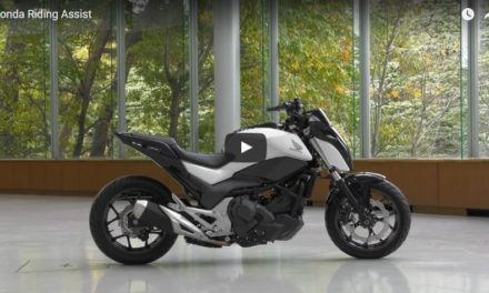 CES 2017: Honda Riding Assist, selbstbalancierendes Motorrad (Video 51 Sek.)