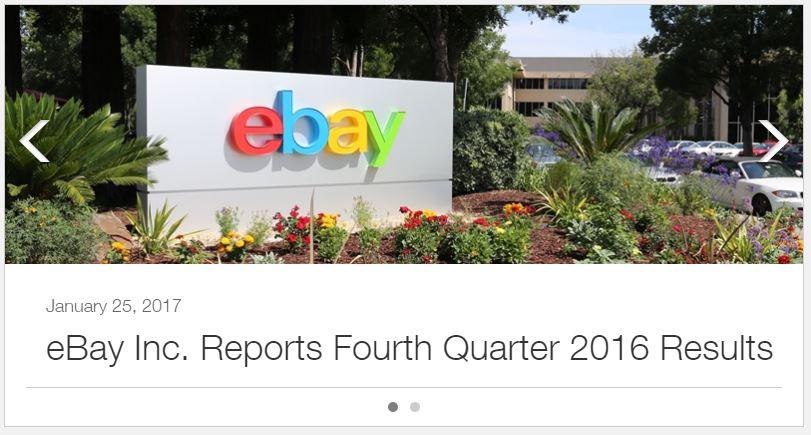 eBay kommt mit guten Zahlen um die Ecke