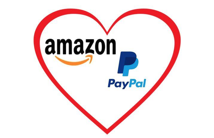 """PayPal's PR-Gag: """"Amazon bietet bald PayPal an."""""""