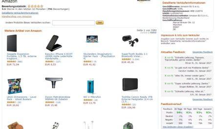 Hintergründe: Amazon als Marketplace-Händler?