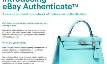 NEU eBay führt eBay Authenticate ™ in den USA ein