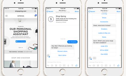 Die vier grundlegenden Interaktionselemente im Chatbot