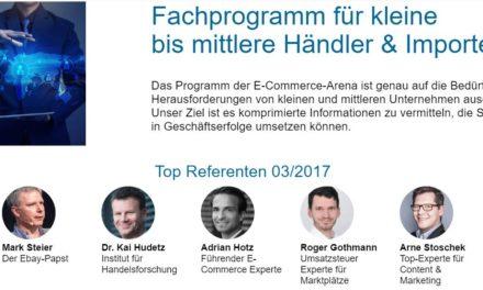 7./8. März in Köln: E-Commerce-Arena – das neue Highlight auf der IAW Messe