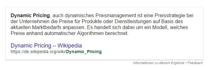 Nix mit eCommerce: Dynamic Pricing in der Dönerbude