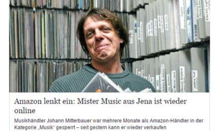 Update: Musikhändler Mister Music ist wieder frei geschaltet