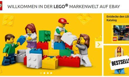 NEWS: LEGO mit eigener eBay Markenwelt