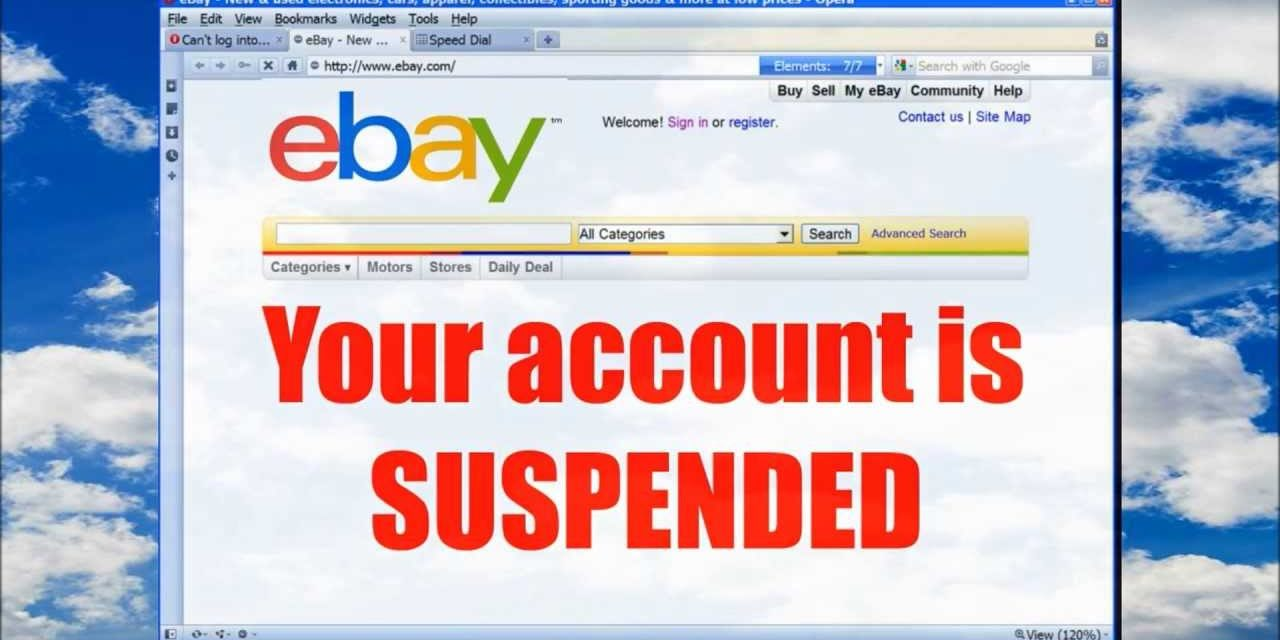 eBay suspendiert massenweise Händler-Accounts … und hat Recht.