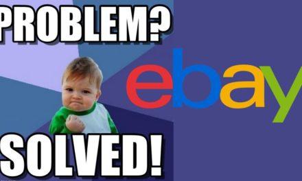 NEWS: Herausforderung gelöst – eBay löscht Mängel.