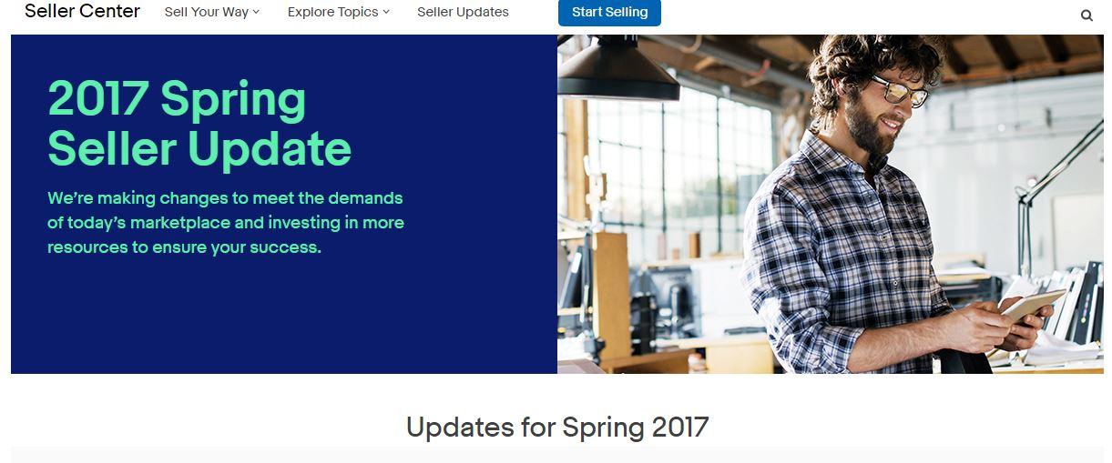 Hot: eBay's 2017 Spring Seller Update ist in den USA raus