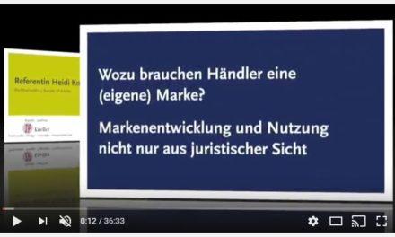 RAin Heidi Kneller-Gronen: Wozu brauchen Händler eine (Eigen-) Marke?