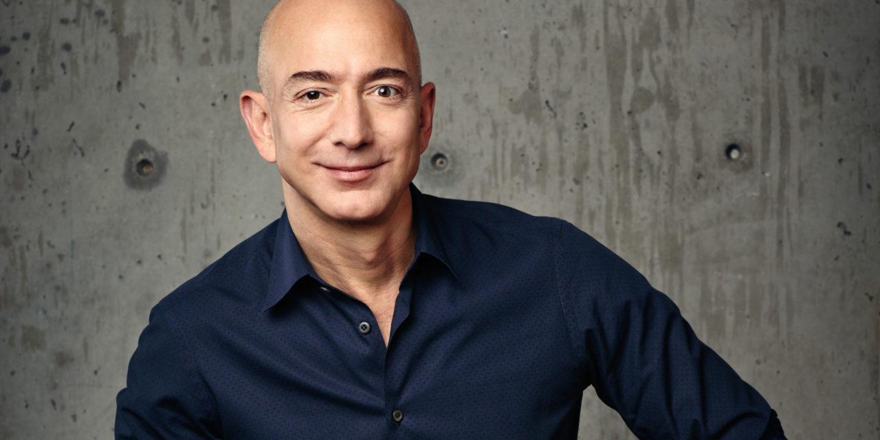 """""""Es ist immer Tag 1"""": Jeff Bezos über Amazon's Startup-Spirit"""