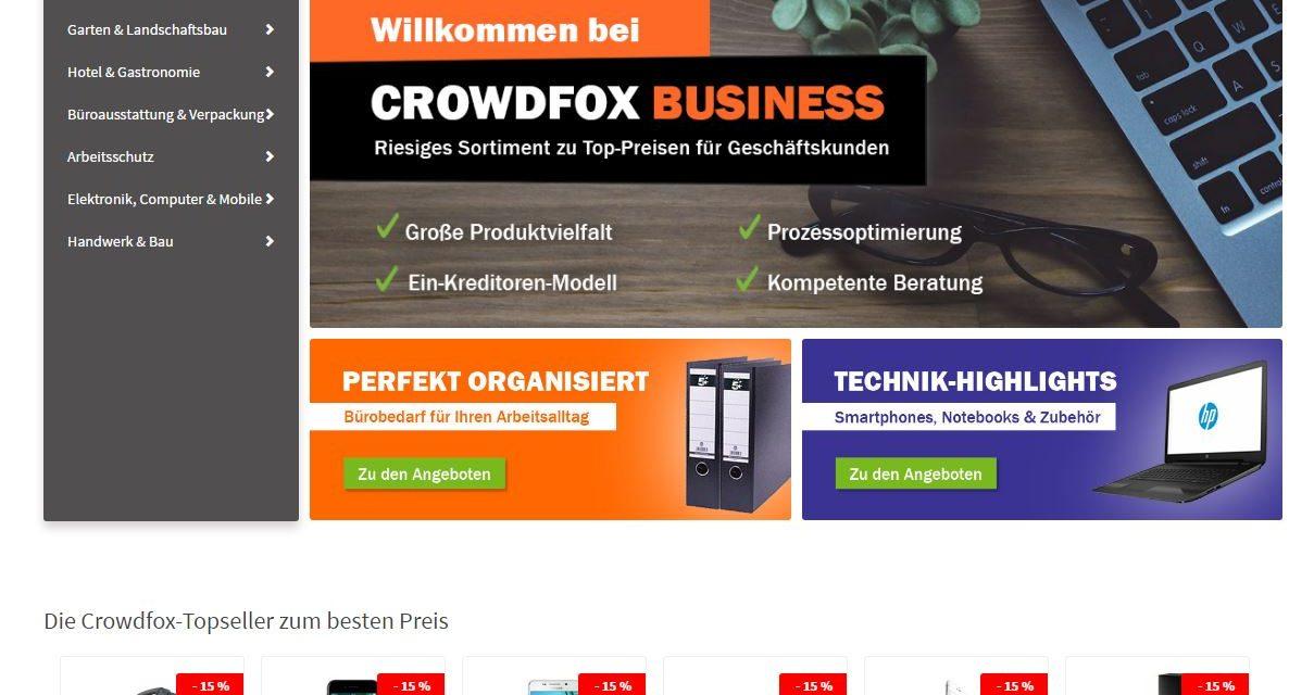 Pressemitteilung: Crowdfox sammelt erneut Kohle ein